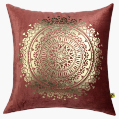 Boho Medalion Printed Cushion - 45x45 cms