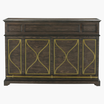 Palampore 2-Drawer Bar Counter with 2-Doors