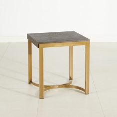 Palampore Square End Table