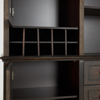 Palampore Bar Curio with Storage