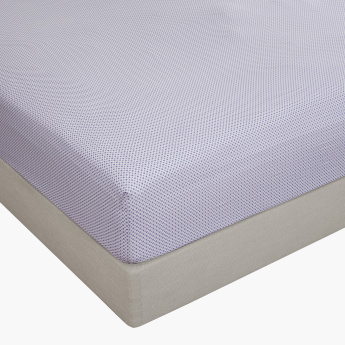 Mesper Printed King Fitted Sheet - 180x210 cms
