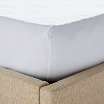 Mineral Queen Fitted Sheet - 155x205 cms