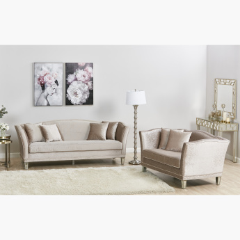 Casablanca Textured 3-Seater Sofa