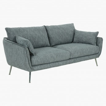 Palmer Textured 3-Seater Sofa