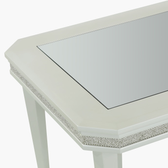 Manzala Embellished Rectangular Coffee Table