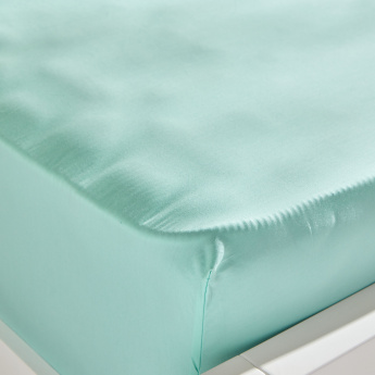 Serenity Single Fitted Sheet - 90x200 cms