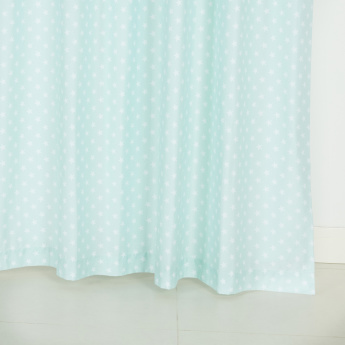 Barny Printed Curtain Pair - 140x240 cms