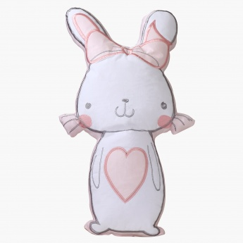 Bernie Bunny Shaped Cushion - 23x46 cms
