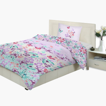 Kelly's Printed 2-Piece Queen Comforter Set - 240x200 cms