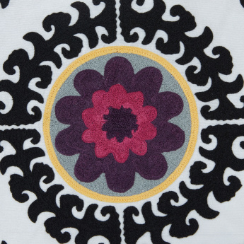 Suzani Embroidered Cushion Cover - 45x45 cms