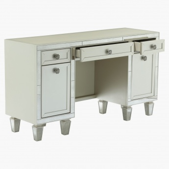 Mono Suzani 3-Drawer 2-Door Dressing Table
