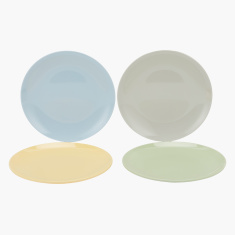Alex Round Plate - Set of 4