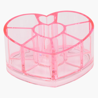 Janies Heart Shaped Cosmetic Holder