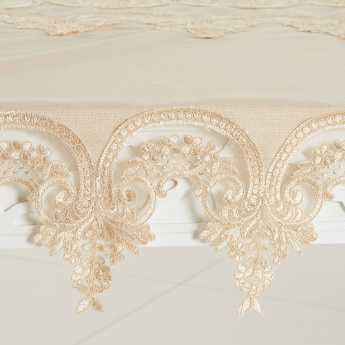 Ahsen Lace Detail 27-Piece Dining Table Accessory Set