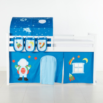 Space Port Printed 3-Piece Bed Tent Set