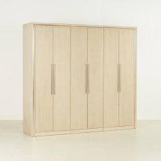Bronx 6-Door Wardrobe with Adjustable Shelves and 2 Drawers