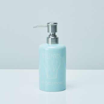 Prince of the House Printed Soap Dispenser with Pump