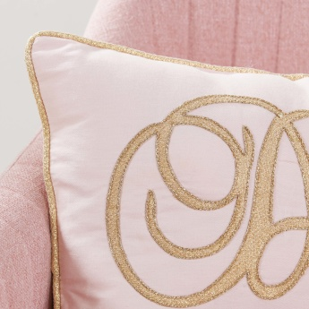 Adriana Embroidered Filled Cushion - 30x50 cms