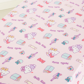 Hello Kitty Printed Fitted Sheet - 200x120 cms
