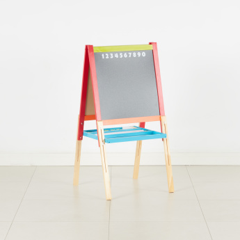 Billy Foldable White and Black Board with Paper Roll