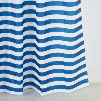 Steff Striped Shower Curtain - 180x200 cms