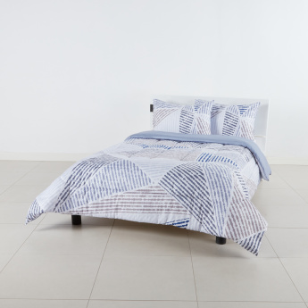 Edger Printed 3-Piece Full Comforter Set - 160x240 cms