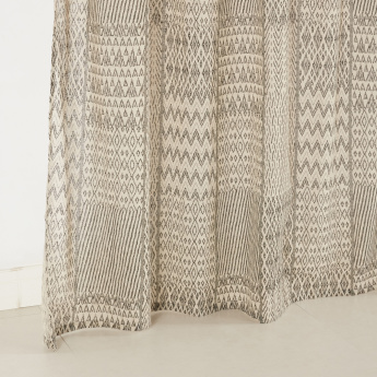 Baltic 2-Piece Printed Curtain Set - 140x240 cms