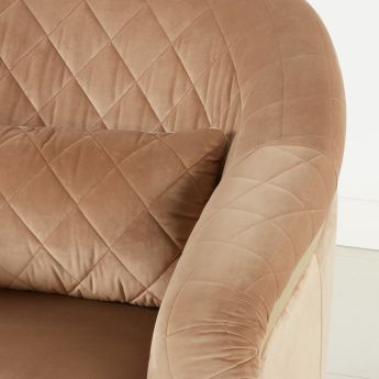 Kenneth Textured 1-Seater Sofa