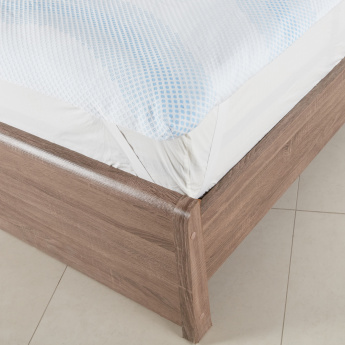 Tencel Jacquard Mattress Top Cover - 120x200 cms
