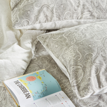 Melissa Printed 3-Piece Queen Duvet Cover Set - 200x200 cms