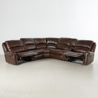 Harper 5-Seater Corner Sofa with Reclining Function