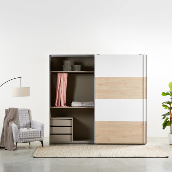 Calaluna Sliding 2-Door Wardrobe