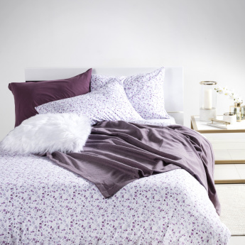 Floral Cluster Printed 3-Piece King Duvet Cover Set - 230x220 cms