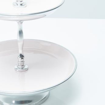 Beverly 2-Tier Round Jewellery Stand