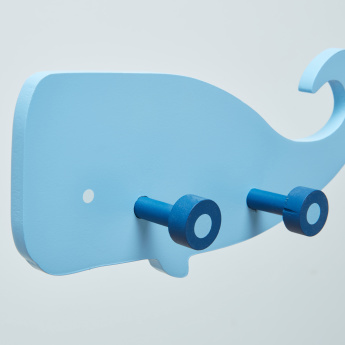 Melville Whale Wall Hooks