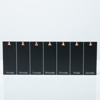 Maxwell Chalkboard with Clips