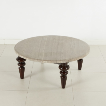 Rodman Carved Coffee Table