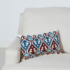 Majestic Textured Filled Cushion - 30x50 cms