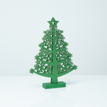 Led Battery Operated Glitter Christmas Tree Light
