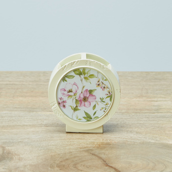 Oku Floral Printed Toothbrush Holder