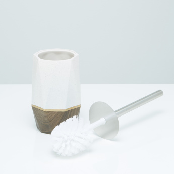 Barombi Handcrafted Toilet Brush Holder with Brush