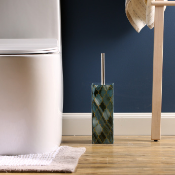 Kivu Printed Toilet Brush Holder