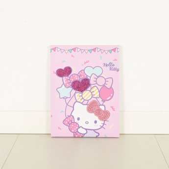 Hello Kitty Printed Wall Canvas - 30x40 cms