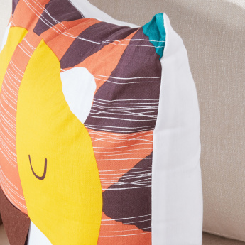 Timmy Tiger Printed Filled Cushion - 45x45 cms