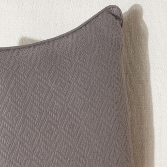 Diamond Dobby Textured Cushion Cover - 45x45 cms