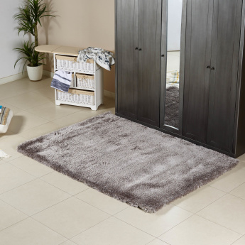Snow Textured Shaggy Rug - 160x230 cms