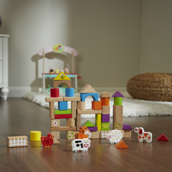 Robert 50-Piece Building Blocks Set
