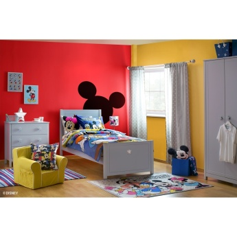 Mickey and Friends Printed Electrical Touch Table Lamp