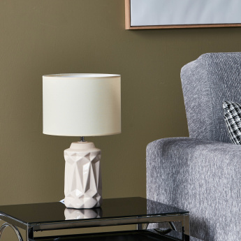 Haedus Textured Electrical Table Lamp