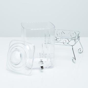 Krystal Clear Beverage Dispenser with Stand